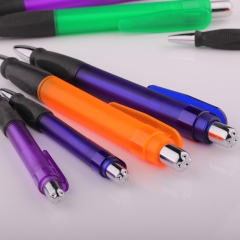 Twin Grip Plastic Promotional Pen