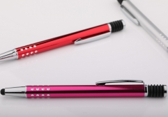 Metal Pen with Stylus