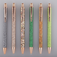 Rosegold Bling Diamond Shinning Pen