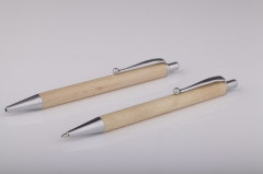 Wood Click Pen