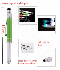 Crystal Multifunction Pen
