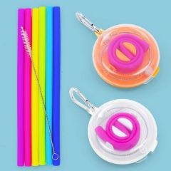 Silicone Straw Set