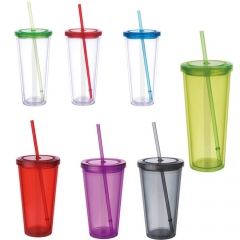 Stadium Cup with Lid & Straw