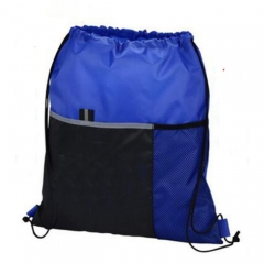 Side Pocket Drawstring Bag