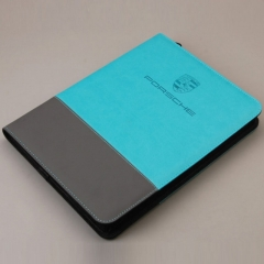 Leather Portfolio with Power Bank