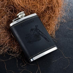 Leather Flask 4oz