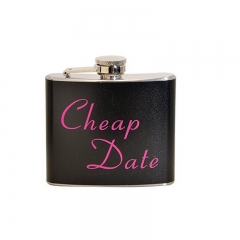 Painting Stainless Steel Hip Flask 5oz