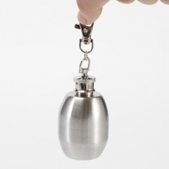 Stainless Steel Pocket Hip Flask 2oz