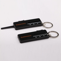 Car Keychain Tire Tread Gauge