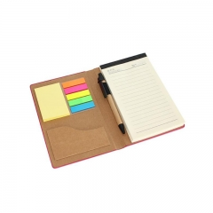 PU Notepad with Pen