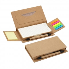 Sticky Notepad with Pen